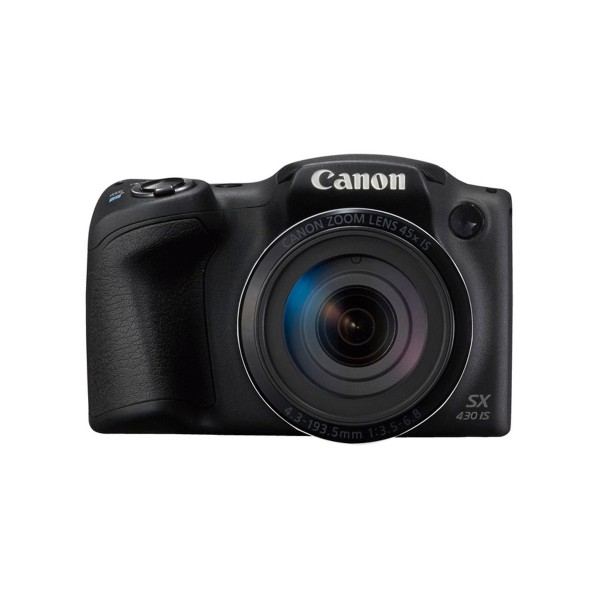 Canon powershot sx430 is negro cámara de fotos digital compacta 20mp hd zoom óptico estabilizador inteligente wifi nfc