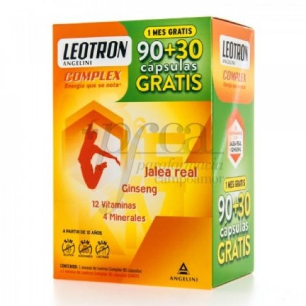 LEOTRON COMPLEX 90 + 30 CAPS PROMO