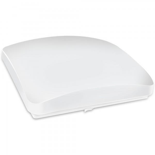 Aplique led cuadrado blanco 24w.neutra