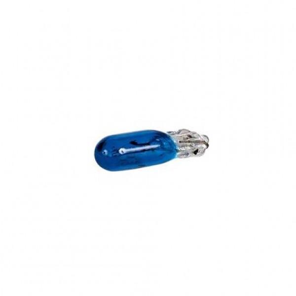 Lámparas wedge 12v 1.2w (t5) w2x4.6d azul.blist 2 unidades