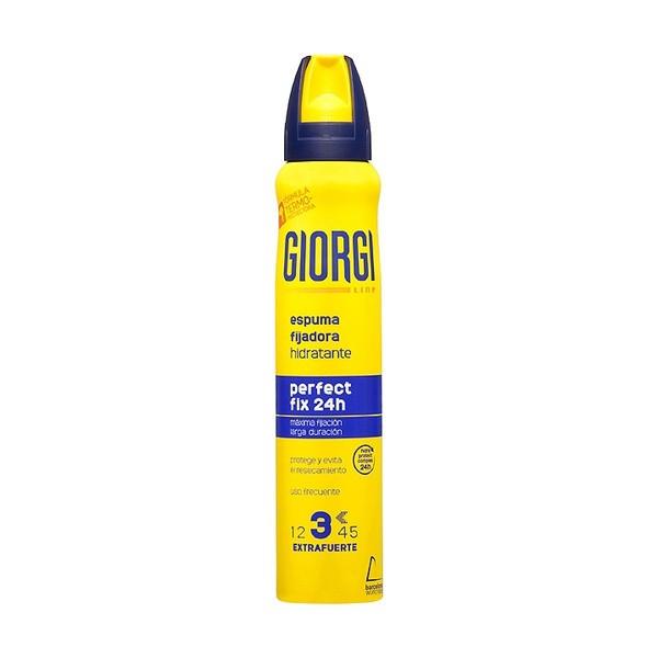Giorgi line espuma fijadora hidratante perfect fix 24h 210ml