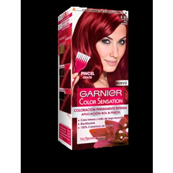 Garnier sensación tinte nº6.60