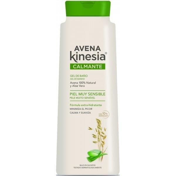 Avena kinesia gel de baño calmante aloe vera 600 + 100 ml.