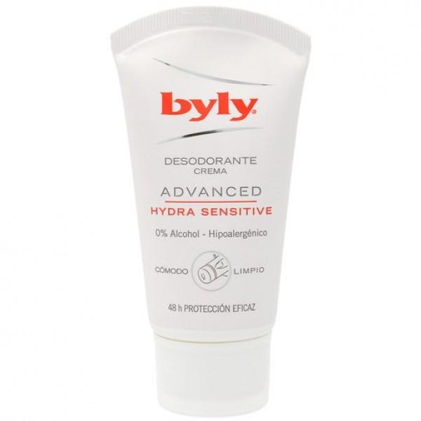 Byly desodorante crema advanced hydra sensitive 50 + 25 ml