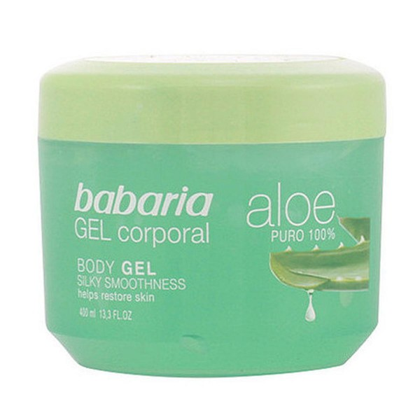 Babaria aloe gel corporal 400ml