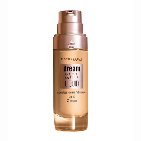 Maybelline dream satin liquid 48 sun beige