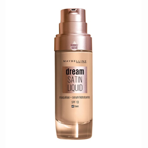 Maybelline dream satin liquid 40 sun beige