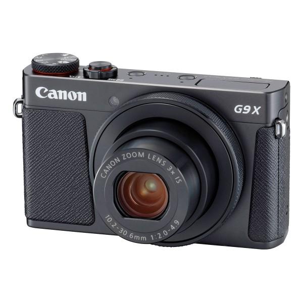 Canon powershot g9 x mark ii negro cámara compacta 20.2mp digic 7 wifi nfc full hd estabilizador óptico