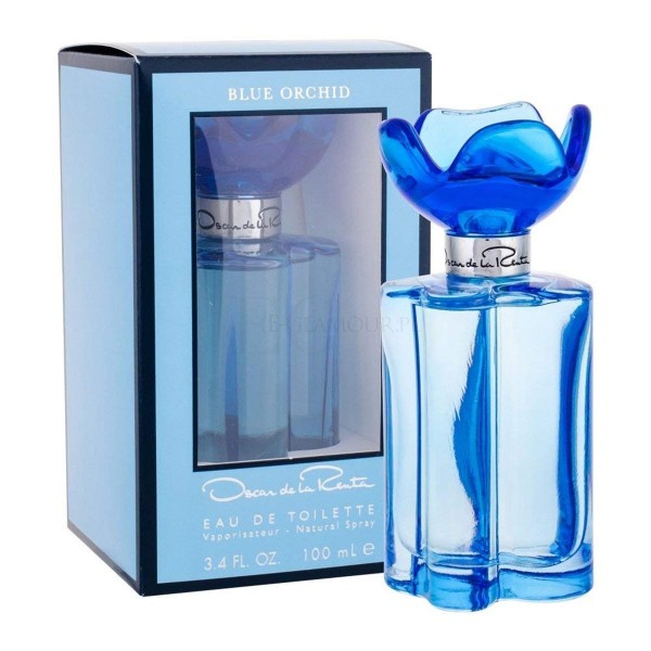 Oscar de la renta blue orchid eau de toilette 100ml vaporizador