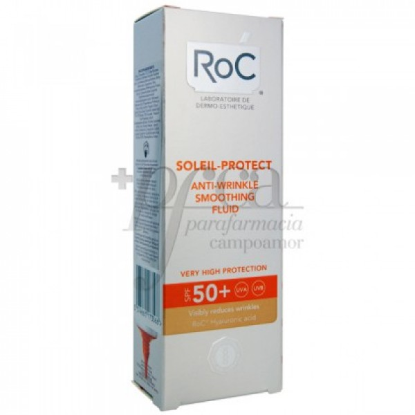 ROC SOLEIL PROTECT 50 FLUIDO REDUCTOR ARRUGAS 50