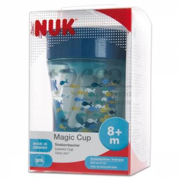 NUK MAGIC CUP VASO APRENDIZAJE 8M+ 230 ML