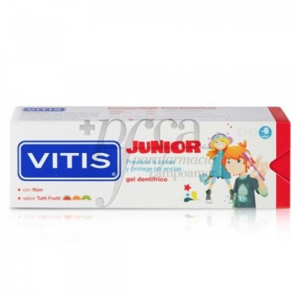 VITIS JUNIOR GEL DENTIFRICO S/ TUTTI FRUTTI 75ML