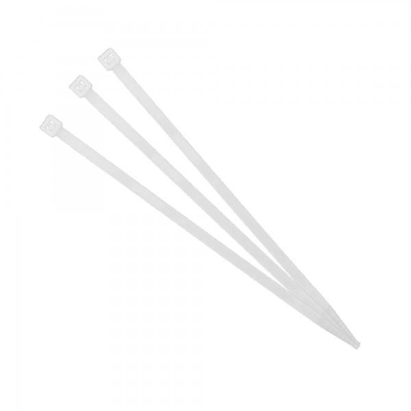 Brida nylon transparente 3,5x200 (100un)