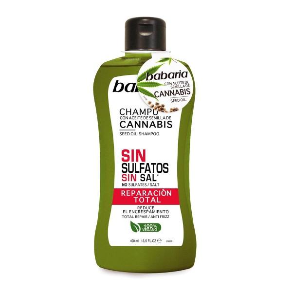 Babaria cannabis champu sin sulfato reparacion total 400ml