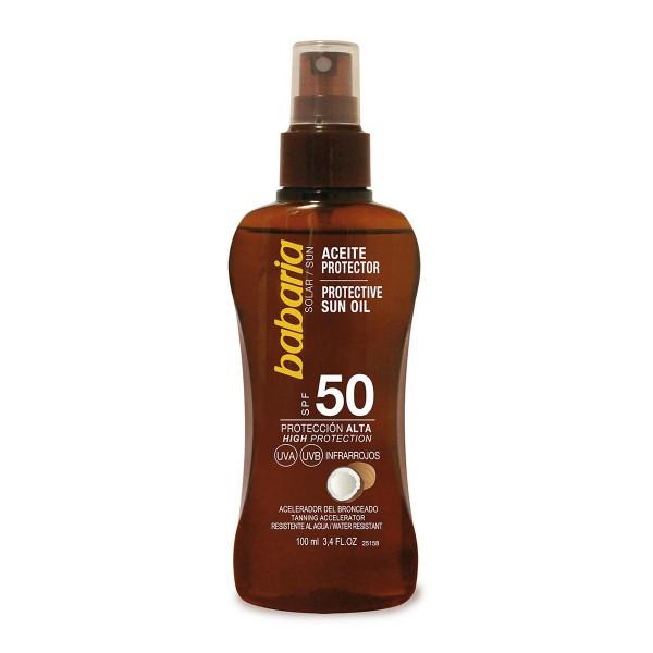 Babaria coco aceite spf50 proteccion muy alta 200ml