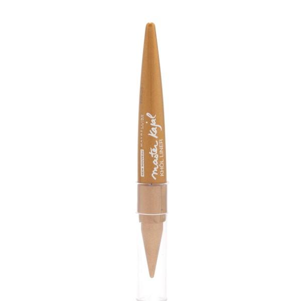 Maybelline master kajal eyeliner oriental gold 1un
