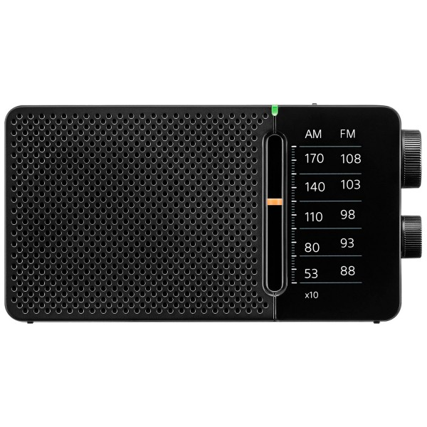 Sangean sr-36 negro radio fm/am altavoz integrado antena telescópica salida auriculares