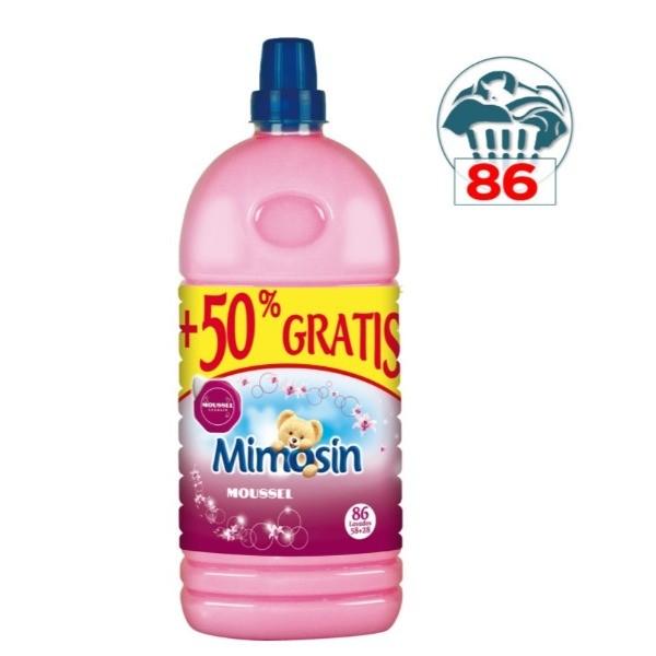 Mimosin suavizante Moussel 58 lavados + 28 GRATIS