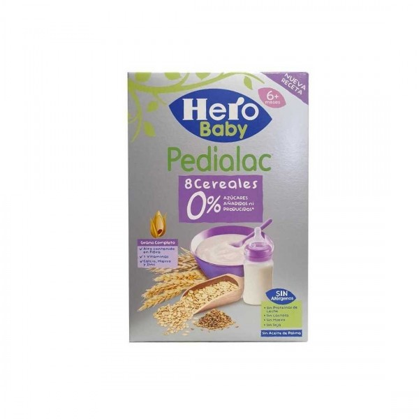 HERO BABY PEDIALAC PAPILLA 8 CEREALES 340 G